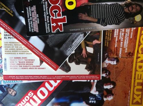 Las revistas musicales en papel buscan su espacio en el planeta digital