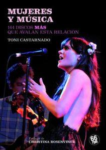 """Portada del libro """"Mujeres y Música"""""""