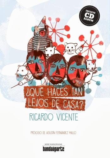 Portada del libro de Ricardo Vicente
